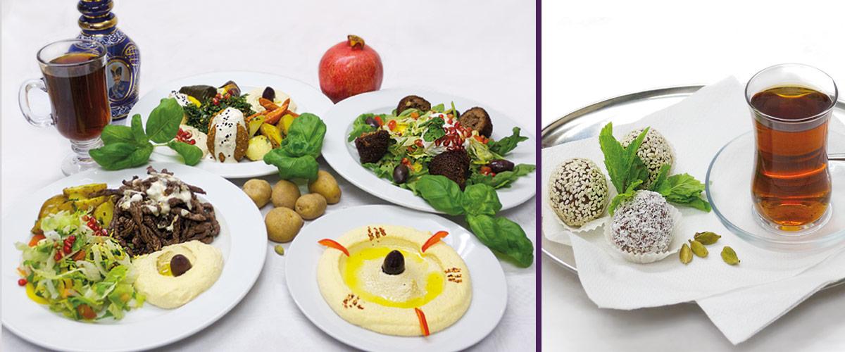 Leckere Köstlichkeiten der Arabischen Küche